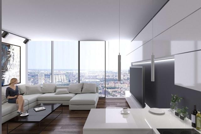 """""""One Tower"""" - самый высокий жилой комплекс Европы"""