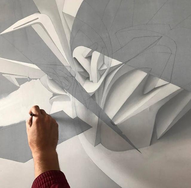 3D-граффити и потрясающий стрит-арт