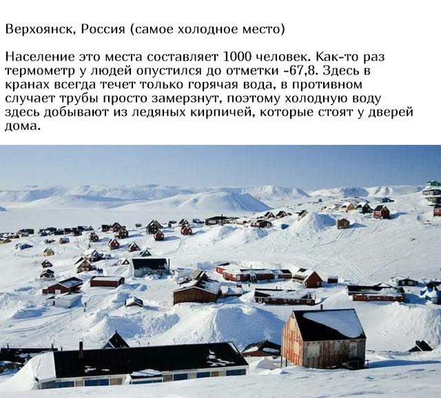 Невероятные места, в которых живут люди