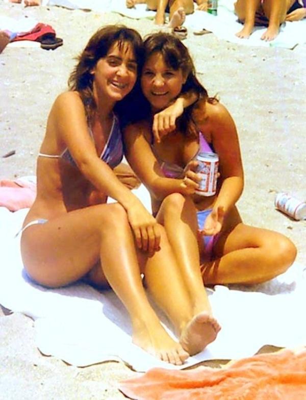Пляжная мода 1980-х годов