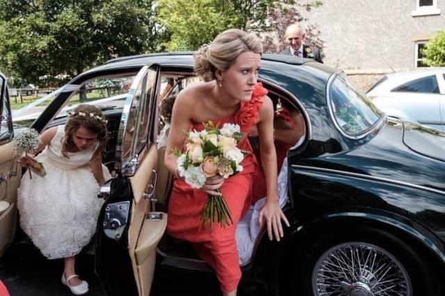 Закадровая жизнь на свадьбе