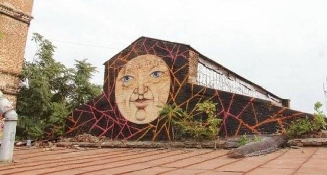 Стрит-арт от Никиты Nomerz