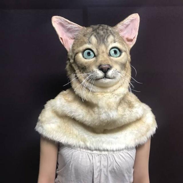 Невероятно реалистичные маски животных