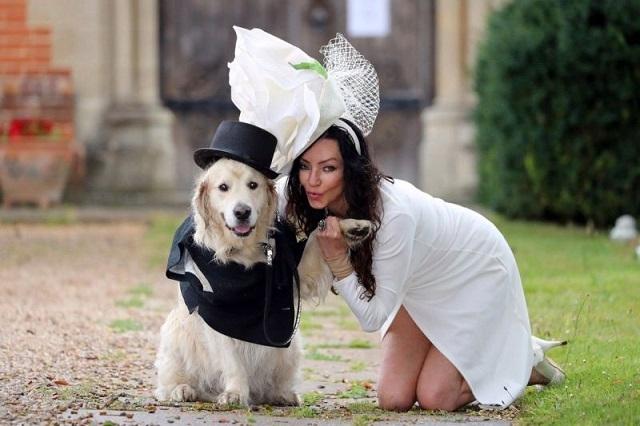 Британская модель собралась выйти замуж за пса, поскольку разочаровалась в мужчинах