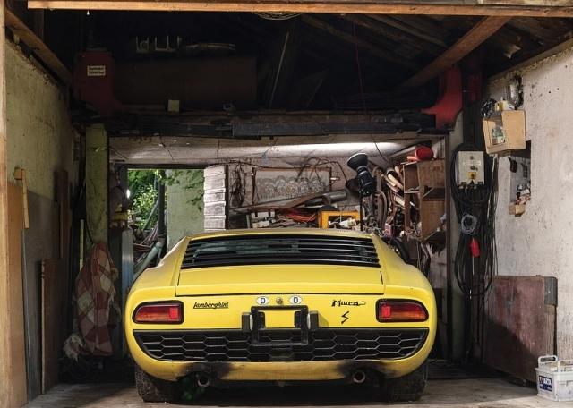 Капсула времени: Lamborghini Miura 1969