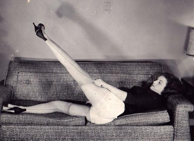 Девушки 50-х годов