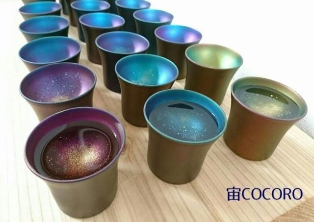 """Целая """"галактика"""" в чашке"""