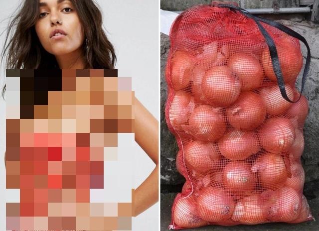Платье за 27 тысяч рублей сравнили с сеткой для лука