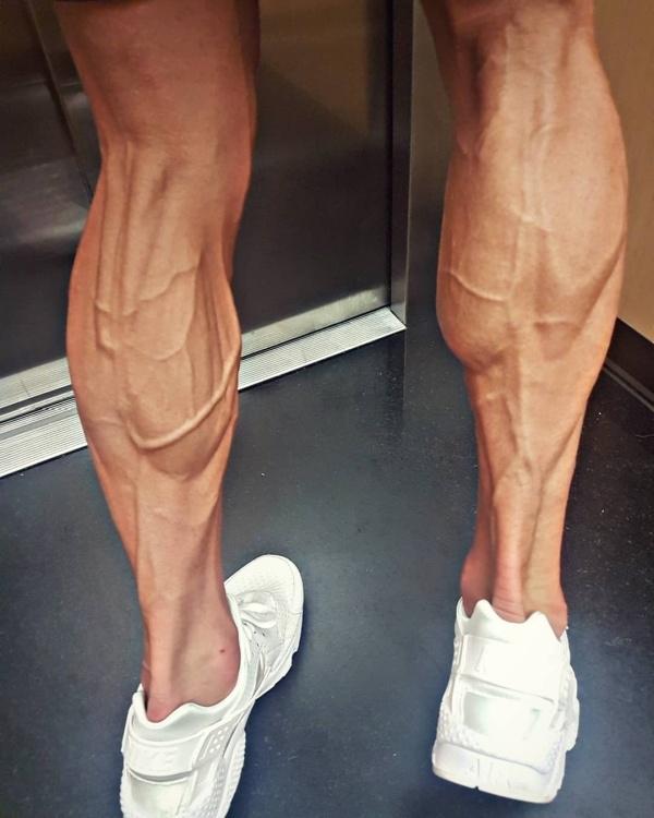 Ноги велогонщика Томаша Марчинского