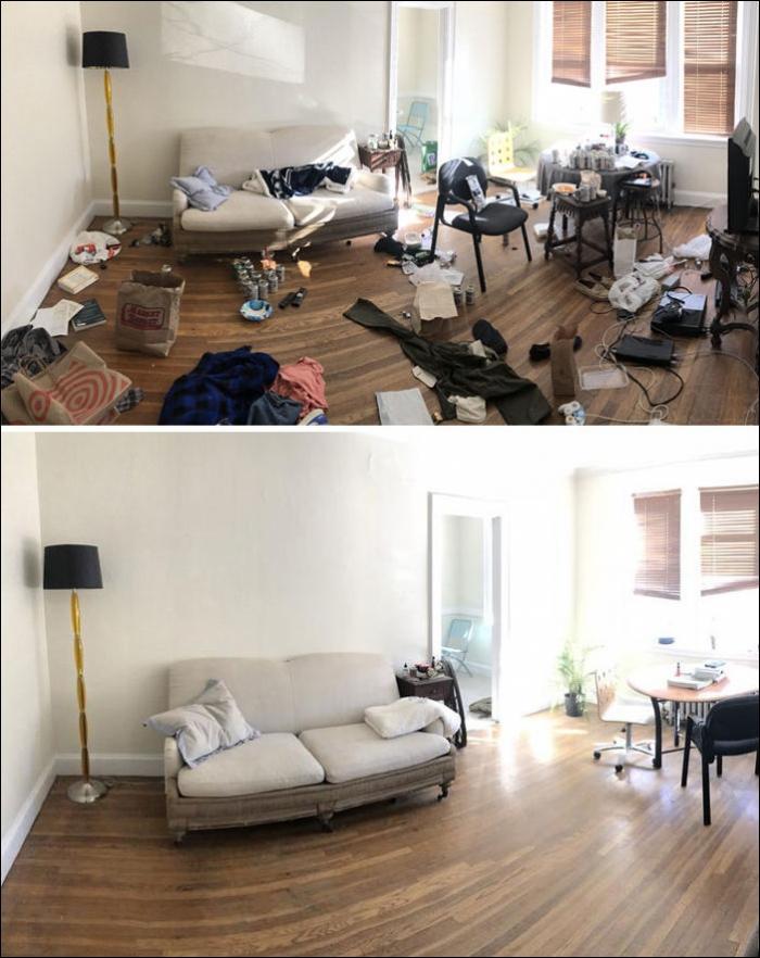 Берлоги депрессивных: до и после