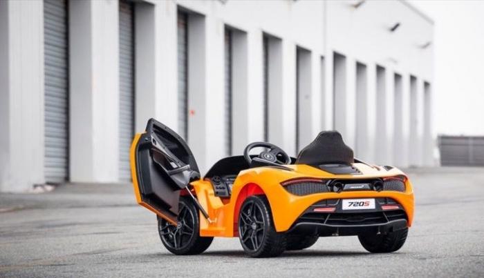 Мини-McLaren за $400 для мелких гонщиков