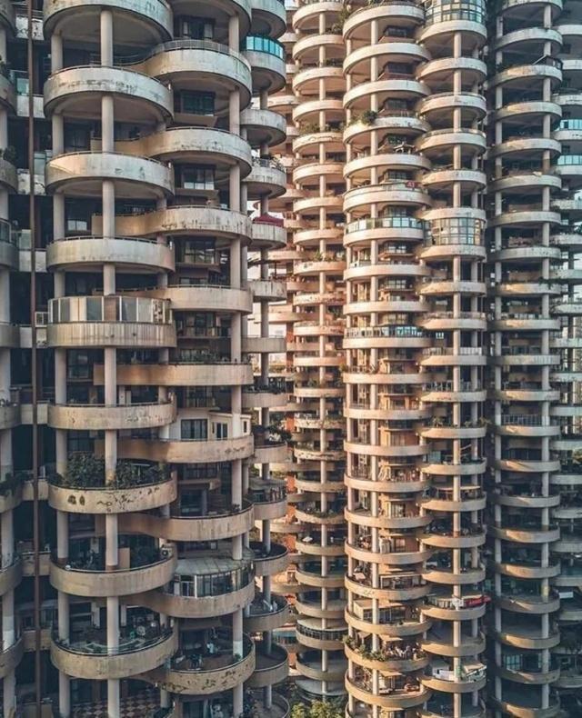 Жилой комплекс в Китае