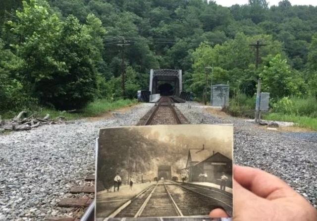 Воссоединяя старые и современные фотографии