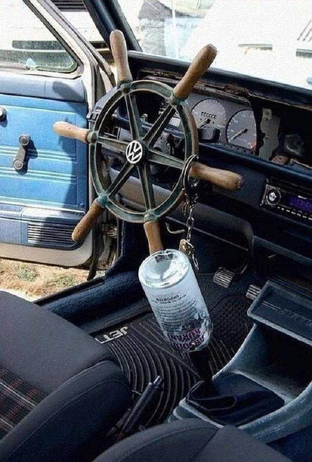 Подборка необычных ручек для коробки передач