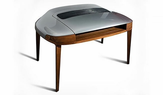 Стильная мебель из деталей старых автомобилей