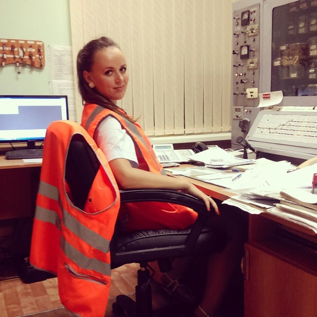 Девушки, которые работают в РЖД