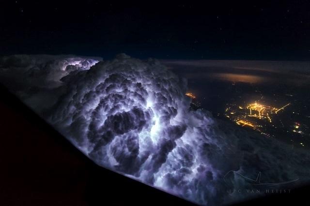 Поразительные виды глазами пилотов Boeing 747