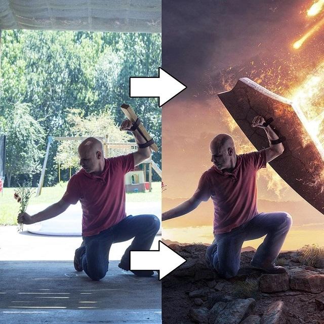 Фотограф поэтапно показал, как Photoshop превращает обычный кадр в волшебный
