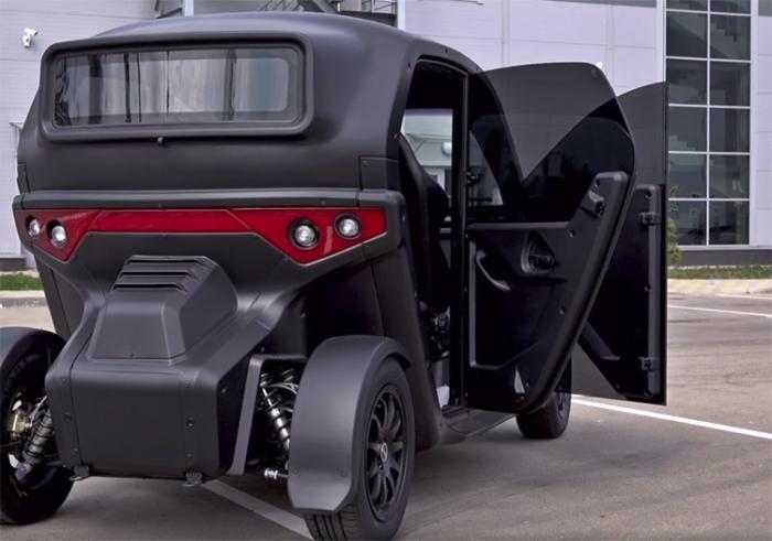 Необычный электромобиль UV-4 от концерна Калашников