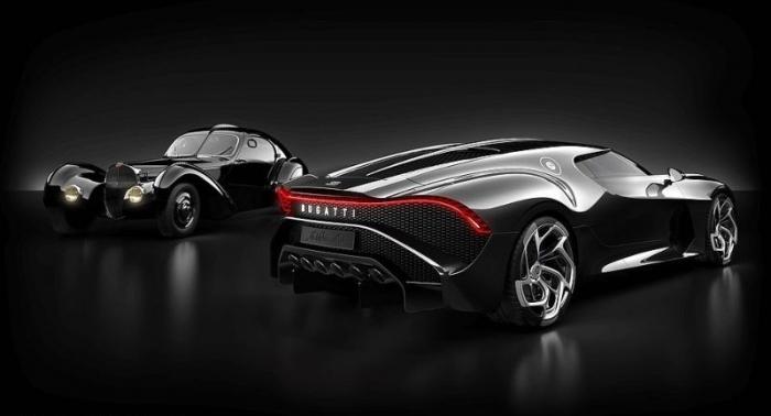 Самый дорогой авто в мире: Bugatti La Voiture Noire продали за ,7 млн