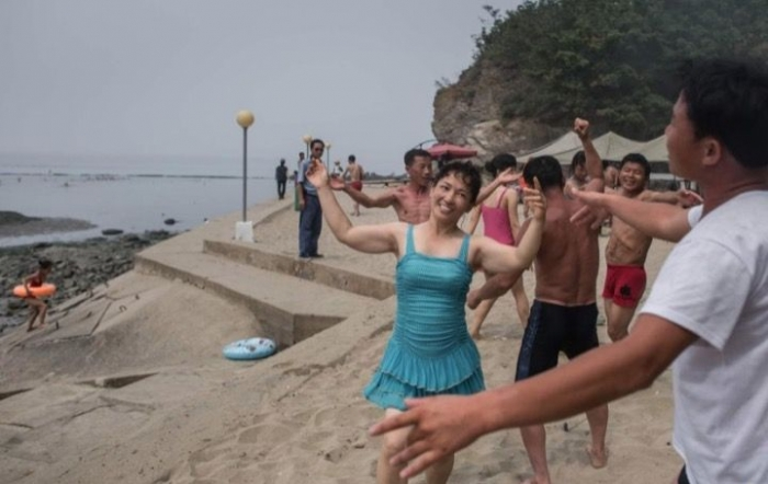 Как отдыхается на море в Северной Корее