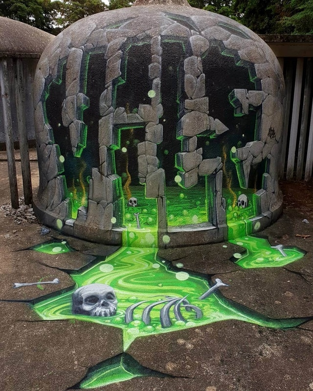 Еще один аргумент в пользу того, что граффити - это искусство
