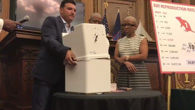 В Нью-Йорке презентовали новейшее оружие против крыс