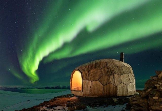 Минимализм и потрясающие виды: туристический домик в Норвегии