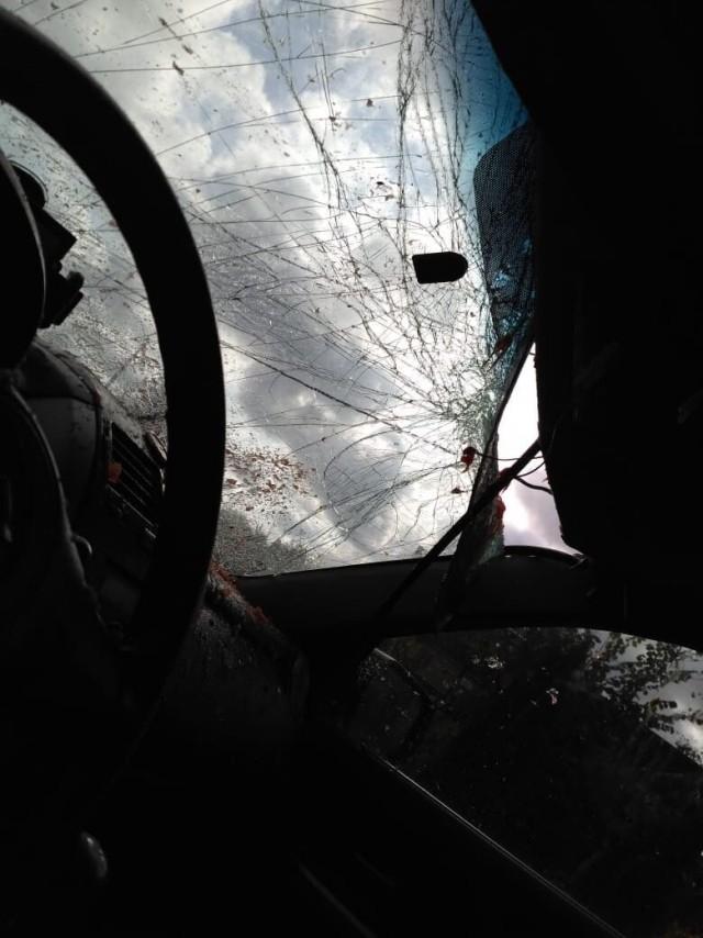 В Подольске на крышу автомобиля с 14 этажа сбросили арбу