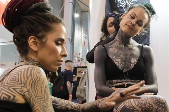 """Как прошла всемирно известная выставка """"Russian Tattoo Expo"""""""