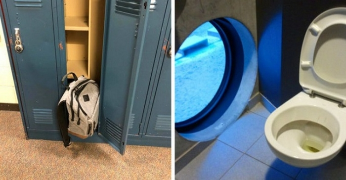Строительные и дизайнерские фэйлы в учебных заведениях