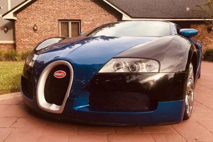"""Bugatti Veyron"" продают в 20 раз дешевле оригинала"