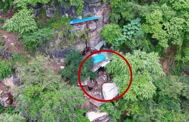 В Китае дроны нашли работорговца, который 17 лет прятался в горах