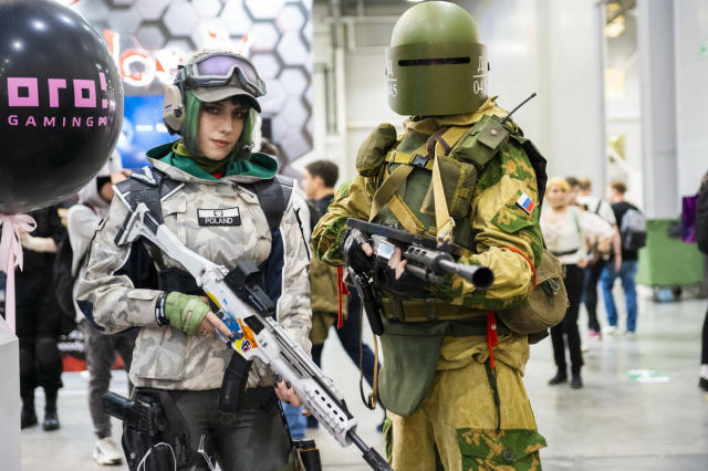 Косплей на «ИгроМире-2019» и Comic Con Russia 2019