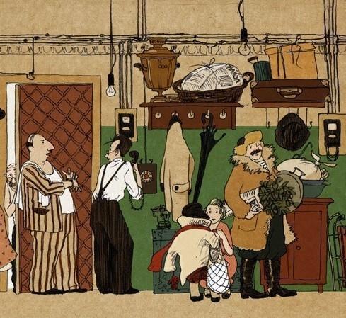 Иллюстрации советского прошлого