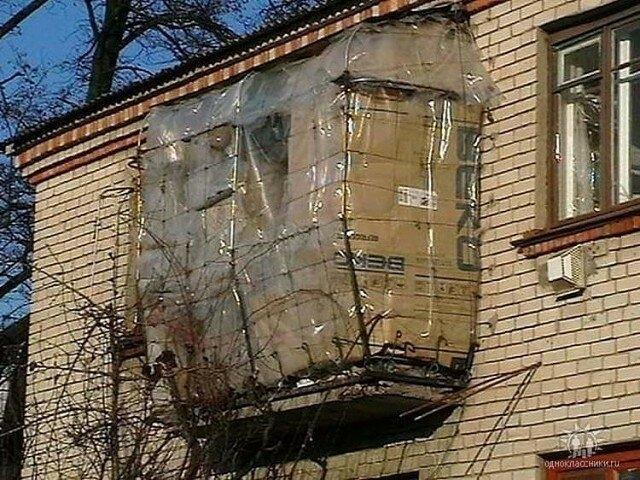 Безумные балконы, которых просто не должно существовать