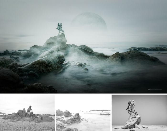 Фотограф сначала создает миры, а потом снимает их