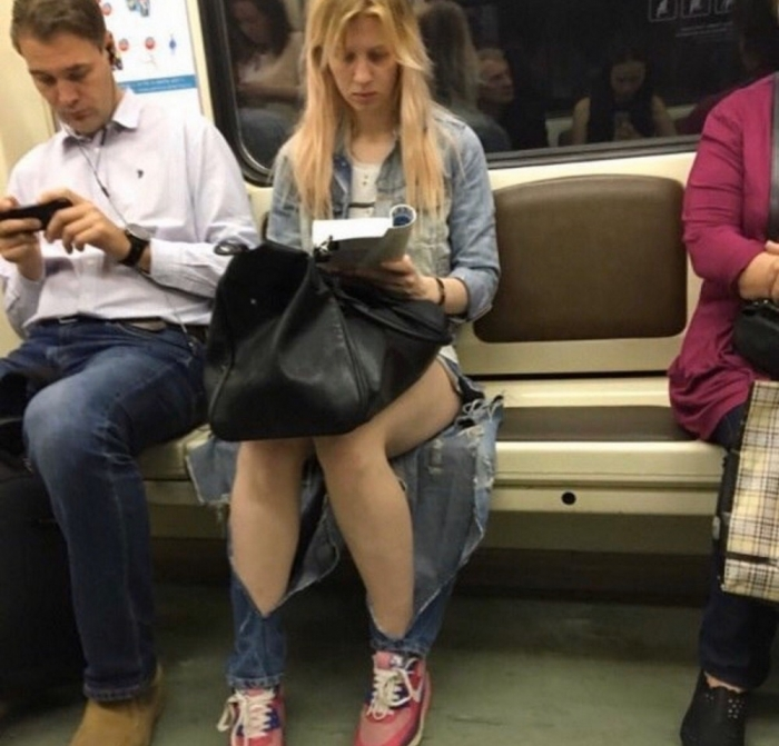 Фантастические модники из метрополитена