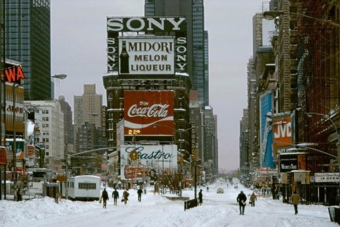 Нью-Йорк 30 лет назад