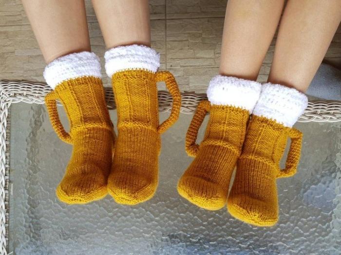 В пивных носках осенью особенно уютно