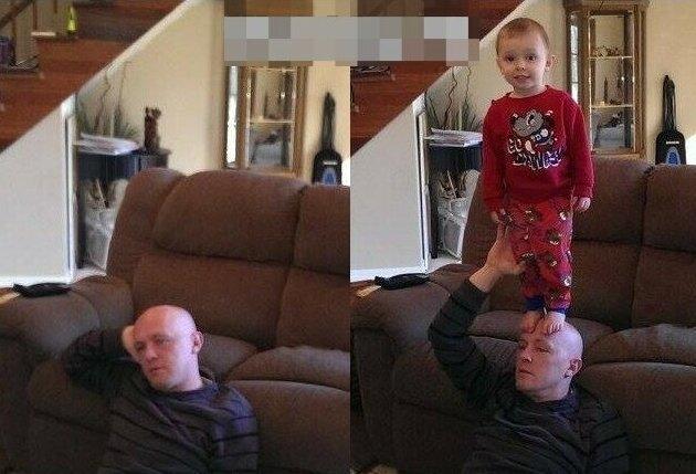 Родители показали честные фотографии о том, как изменилась их жизнь с появлением детей