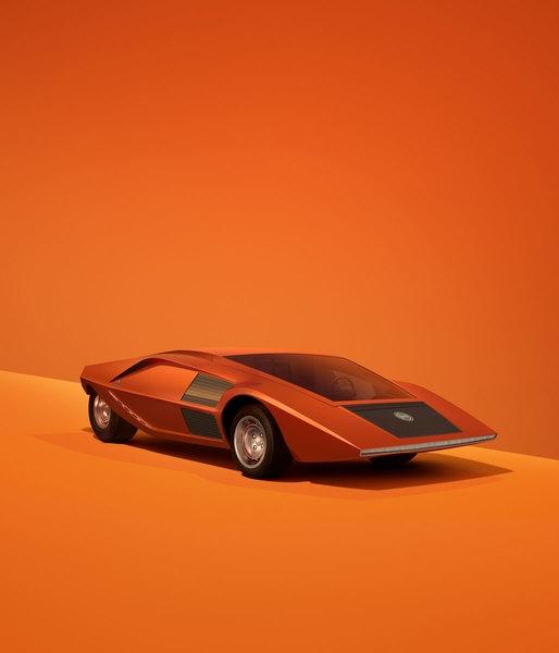 Какими итальянцы представляли машины будущего