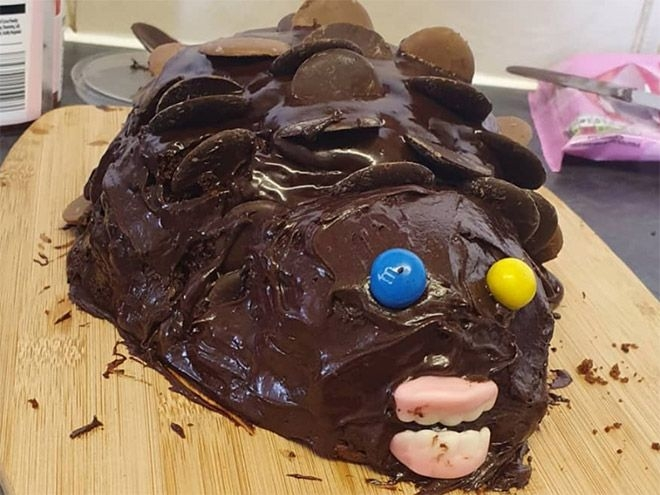 Пироги в виде ежиков прямиком из ночных кошмаров