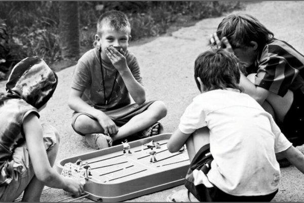 Игры во дворе без гаджетов