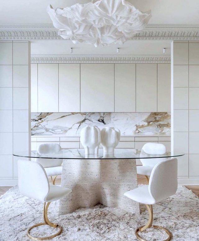 Примеры того, как стильно и лаконично могут смотреться обычные вещи в белом цвете
