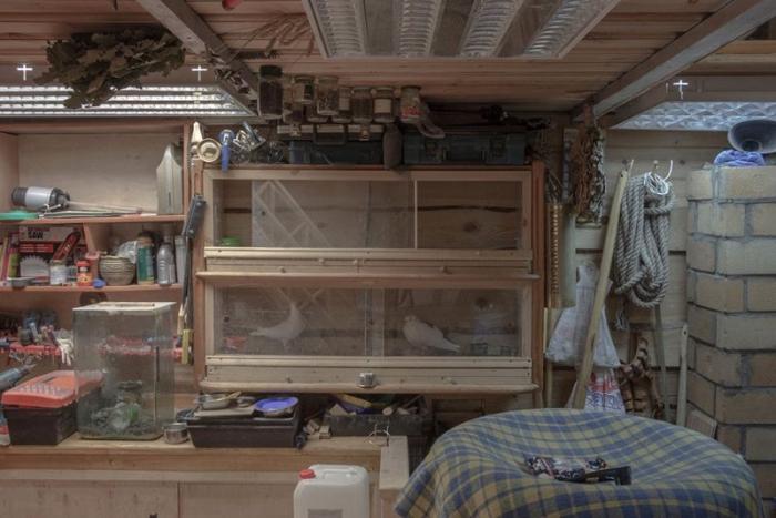 Хоромы за дверями обычных гаражей