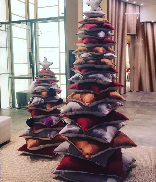 Необычные елки с нестандартным дизайном