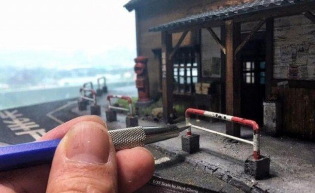 Художник из Тайваня создает миниатюрные миры