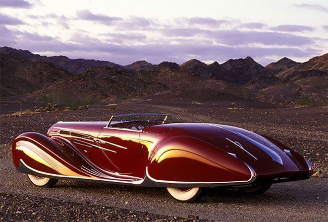 Самый красивый французский автомобиль 30-х годов