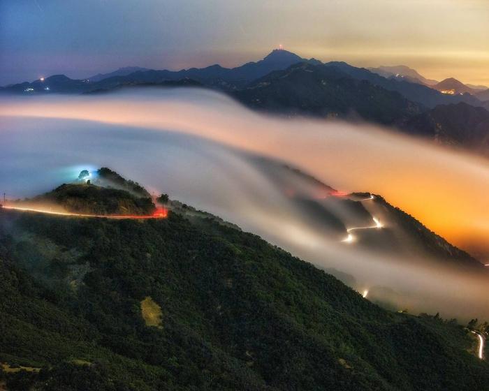 Захватывающие пейзажи Криса Юэна Кросби